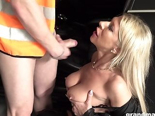 Perverted Rich Matures Whore Wanna Get Some Jism Onto Her Big Boobies
