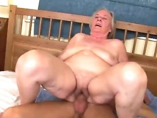 Skinny Dude Used To Fuck Lustful Grannies