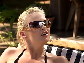 Nothing Makes Lauryn May Blessed Like Getting Pounded Outdoors