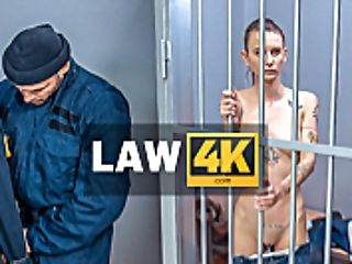 Law4k. Brown-haired Sofia Lee Used To Steal Goods In The Park But Gets Caught