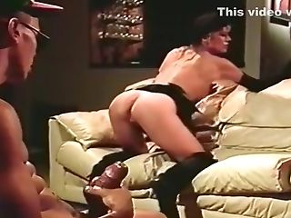 Antique - Housewives Watching A Boy Jerking His Manmeat