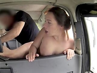Utter Joy And Oral Passion On Her Way To Work