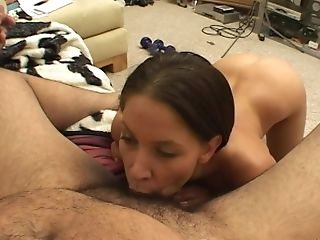 Haley Paige Is A Nice Dark Haired Fucked Well By A Fat Fellow