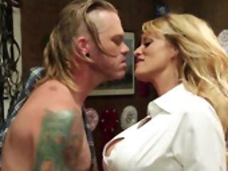 Kendra Zeal Offers The Masculine Stripper Her Hot Honeypot