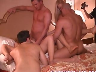 This Is A Large Real Swapper Orgy That Took Place In Las Vegas!