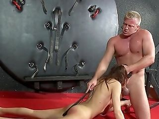 Jism In Mouth And Hard Backside Whipping During Teenage's Very First Bondage & Discipline Have Fun