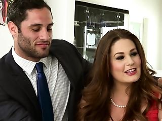 Allison Moore Fucked By A Stud In Front Of A Perverse Duo