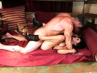 A Female That Loves Rough Treatment Is Sucking A Hard Dick