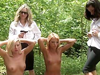 Army Women Stripped