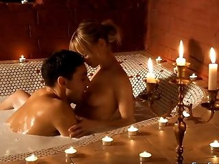 Erotic Blonde Mummy And Indian Paramour