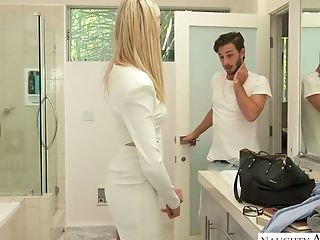 Light-haired Honey Anny Aurora Gets Intimate With One Of Her Fellows