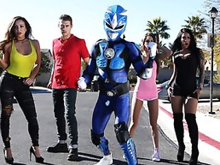 Brazzers - Power Bangers: A Xxx Parody Part Three