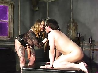 Exotic Maitresse Madeline Marlowe Thirsts For A Friend's Fat And Strong Woo