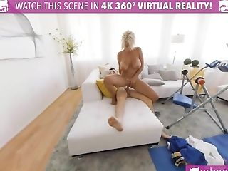 Vr Bangers Big-chested Blonde Gets Fucked After Swimming