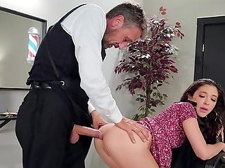 Gorgeous Black-haired Jane Wilde's Sexy Bum Pounded Gonzo