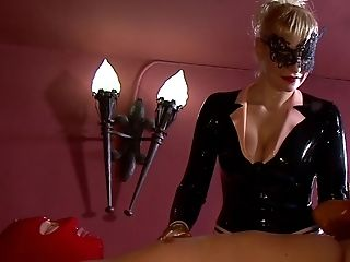 The Black Leather Makes This Amazing Woman Lady Patricia Hornier For Her Friend
