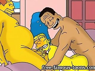 Simpsons Anime Porn Porno Parody