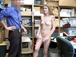 Ardent Guilty Fledgling Bitch With Rounded Backside Is Fucked By Perverted Cop