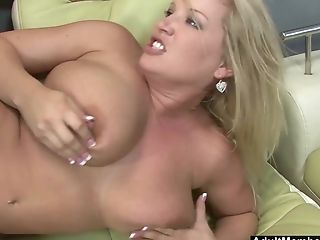 Mummy Rachel Love Uses Her Mouth And Immense Tits To Make Her Man Jizz